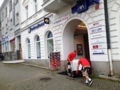 Stěhování Česká Spořitelna