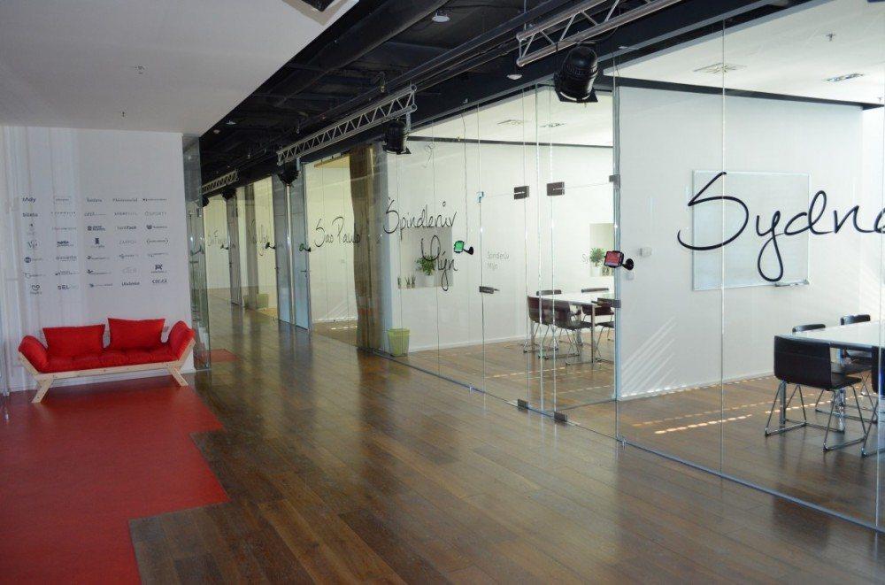 Nové prostory firmy CZC.CZ na Kavčích Horách