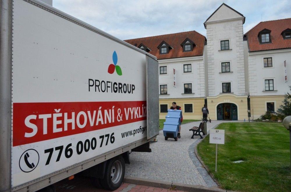 Stěhování a vyklízení firem