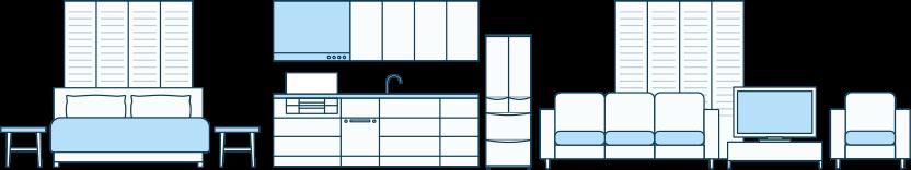 Stěhování běžného bytu PLUS