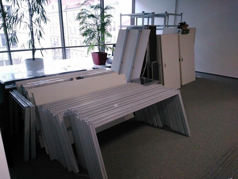 Demontáž kancelářského nábytku