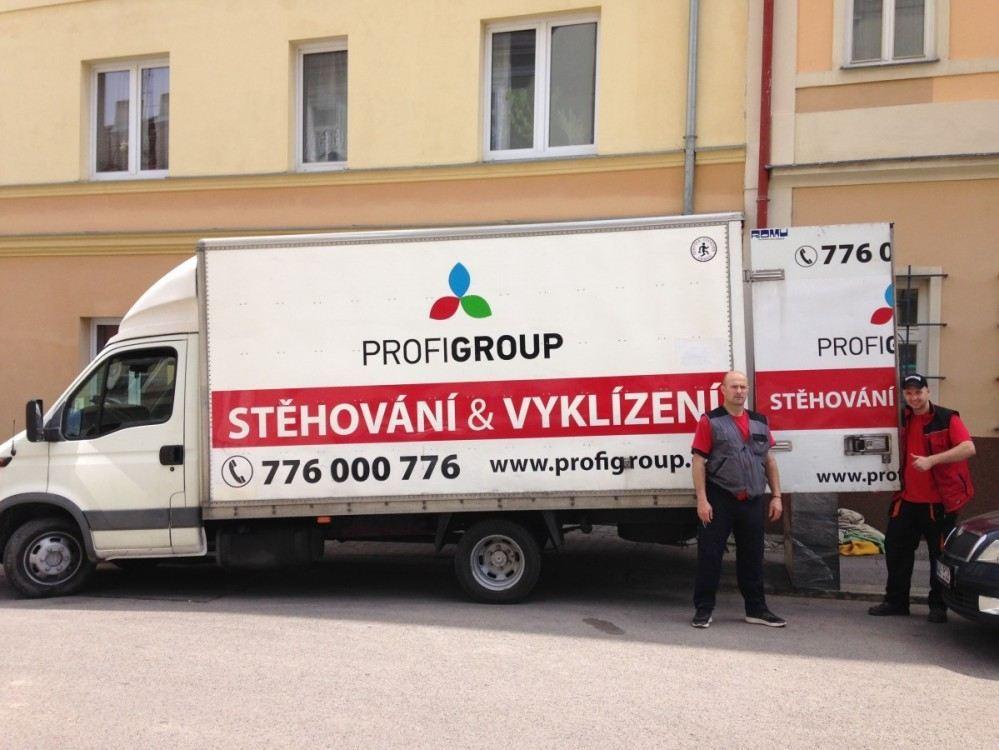 Stěhování po Praze