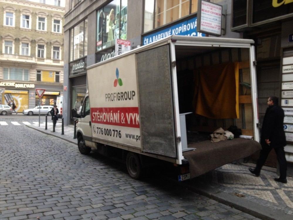 Stěhování kanceláří v Praze