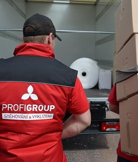 Stěhování Praha Profigroup