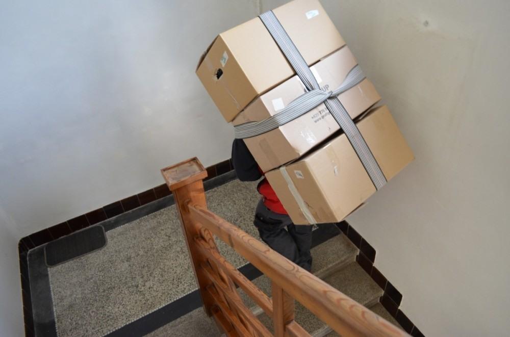 Stěhování krabic od Profigroup