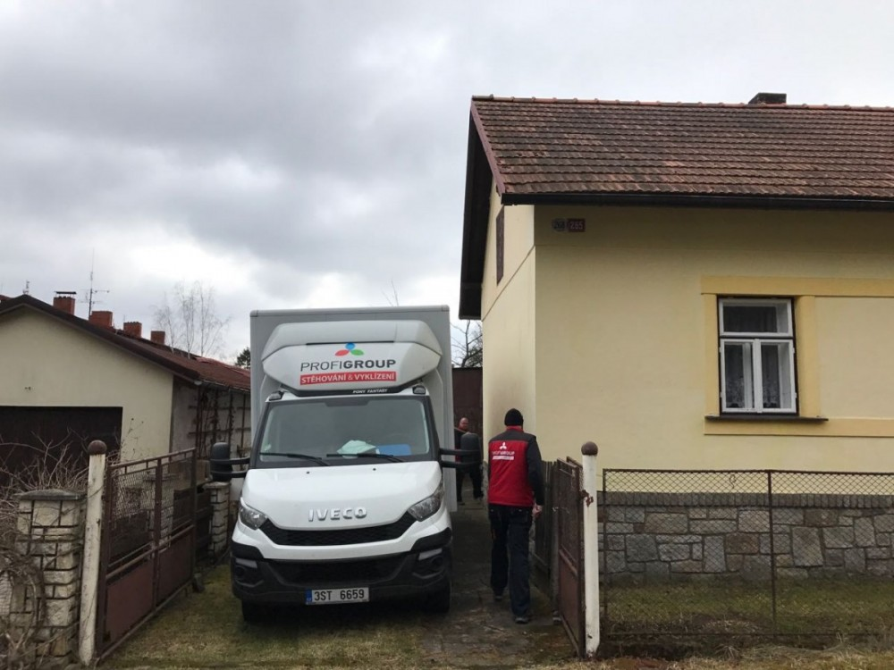 stěhování rodinného domu