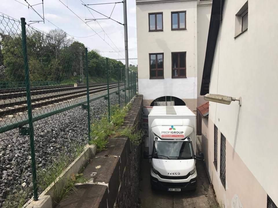 Stěhování firmy Praha
