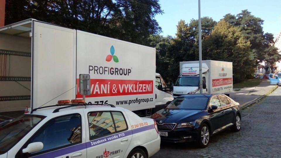 stěhuji se v Praze