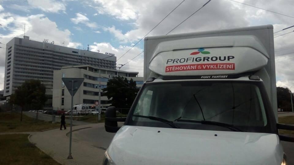 doprava do FN Brno
