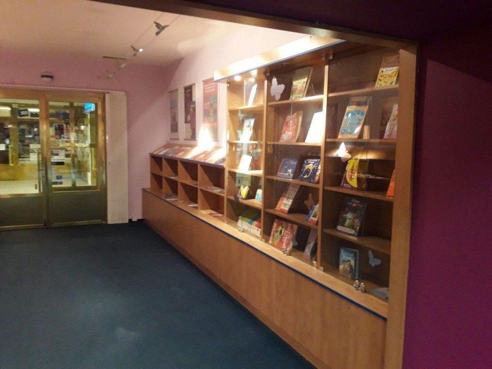 stěhování knihkupectví