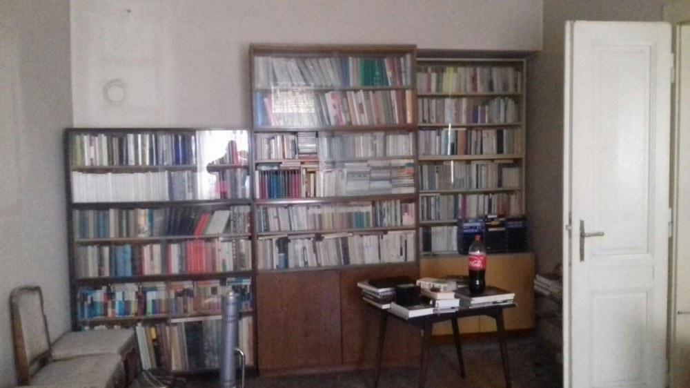 knihy, knihovna, Praha