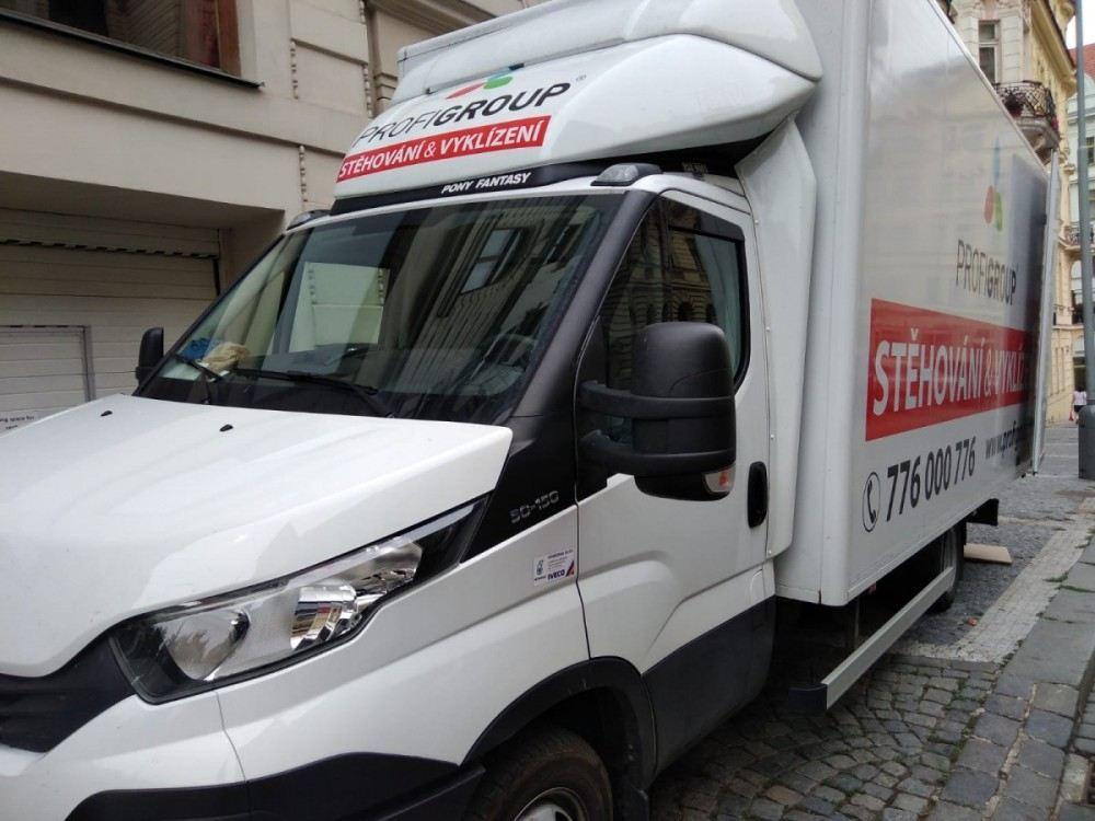 auto ke stěhování
