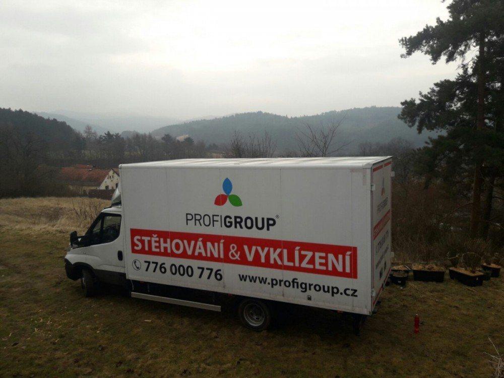 česká panoramata při stěhování