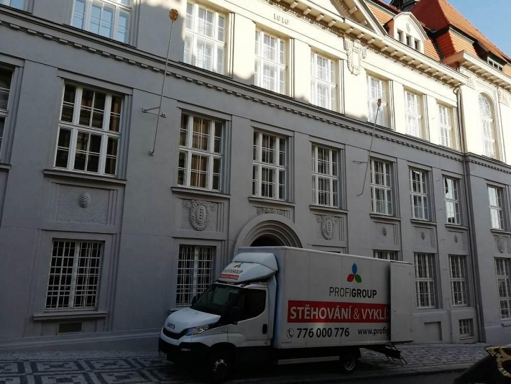 vyklízení v Praze