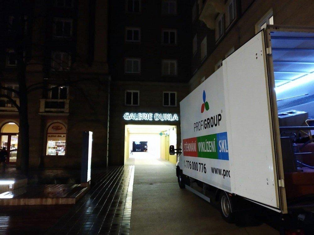 odvoz nábytku do Ostravy