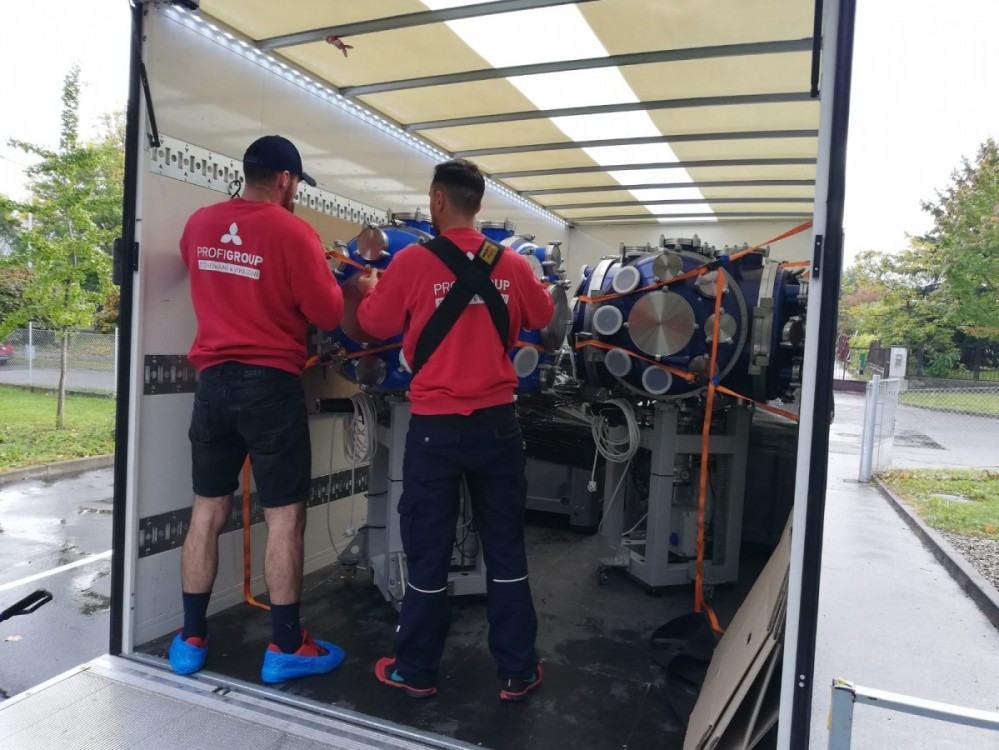 stěhování drahých přístrojů Praha
