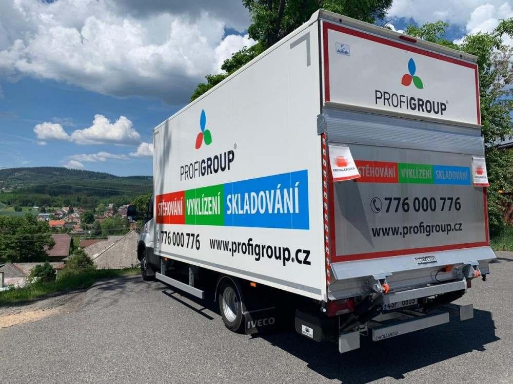 stěhování z Prahy