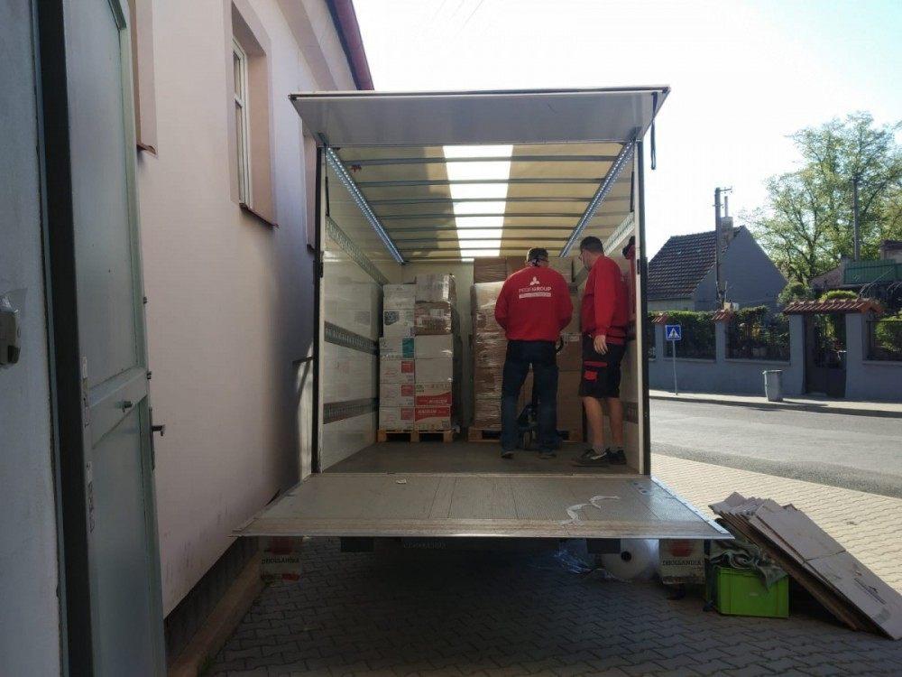 stěhování Profigroup zajišťuje dopravu pro Bonami