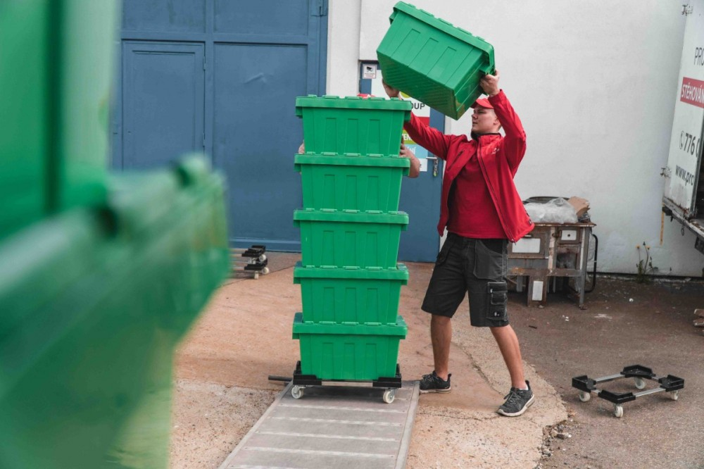 Stěhování krabice Plastové
