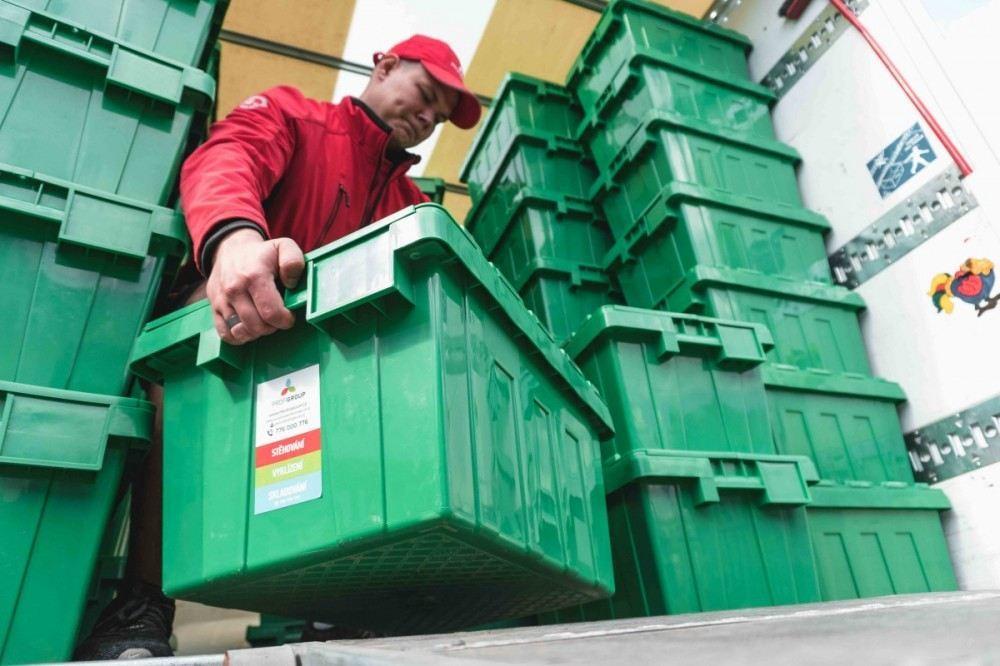 Profigroup plastové krabice a skladování