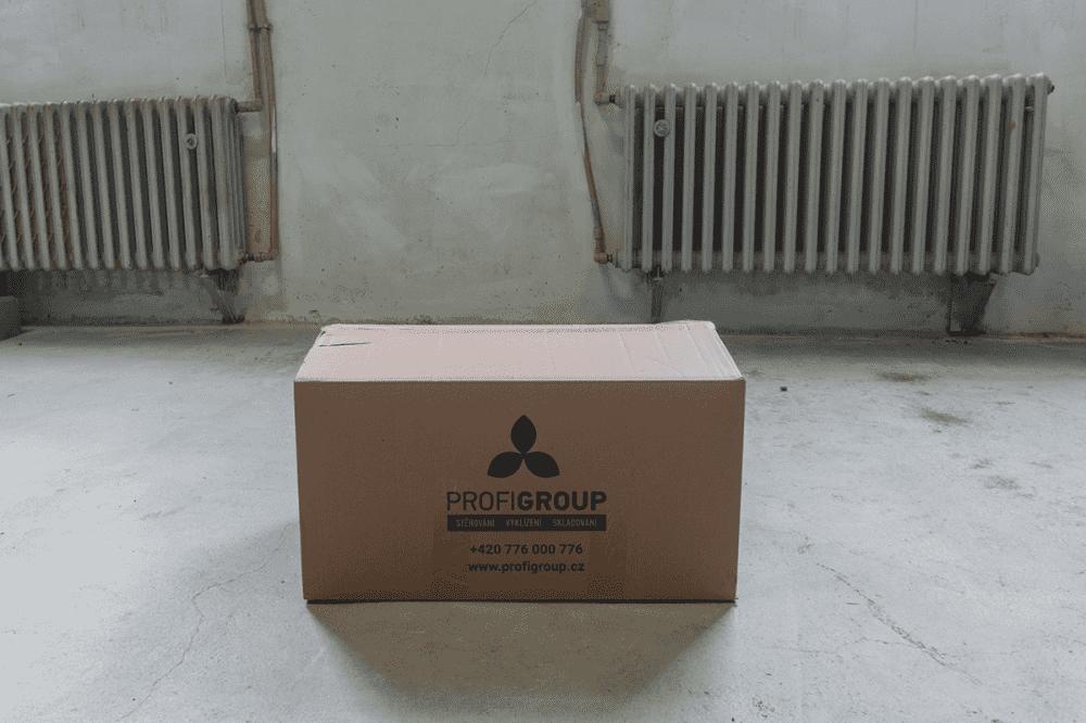 Zapůjčení krabic