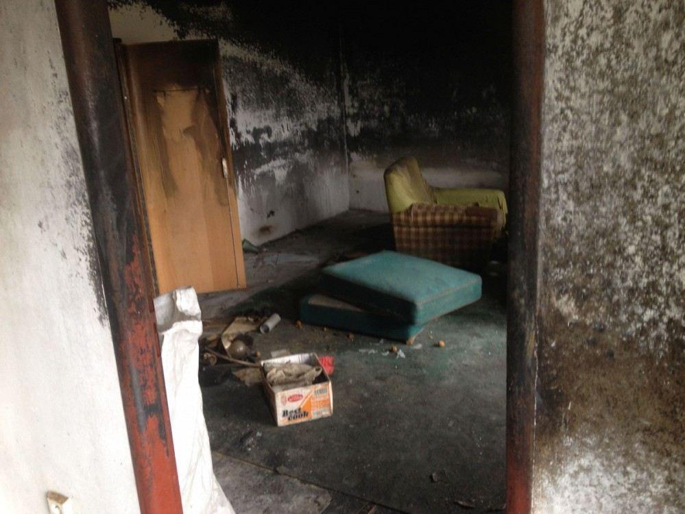 Vyklízení bytu Praha - vyhoření